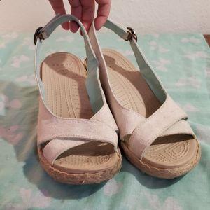 Crocs wedges sizes 9